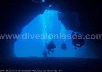 caverns, Alonissos, Alonnisos, Alonissos Triton, Dive, Scuba diving