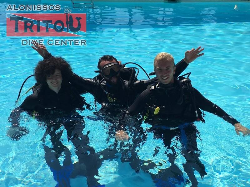 Lesson Time, Alonissos, Alonnisos, Alonissos Triton, Dive, Scuba diving