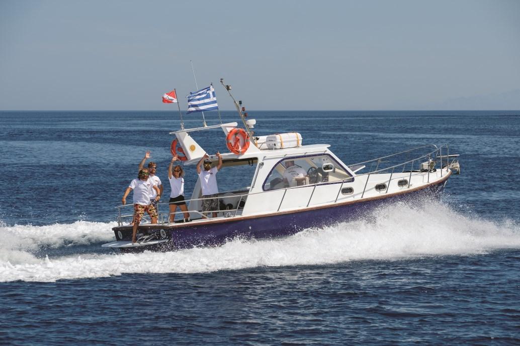 Alonissos, Alonnisos, Alonissos Triton Dive, dive boat