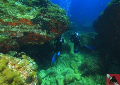 The Chimney, Alonissos, Alonnisos, Alonissos Triton, Dive, Scuba diving