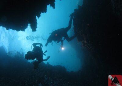 Triton Caverns, Alonissos, Alonnisos, Alonissos Triton, Dive, Scuba diving