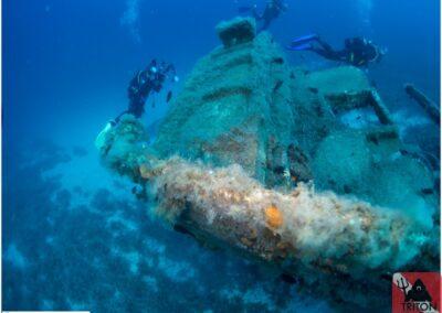 two brothers shipwreck, Alonissos, Alonnisos, Alonissos Triton, Dive, Scuba diving